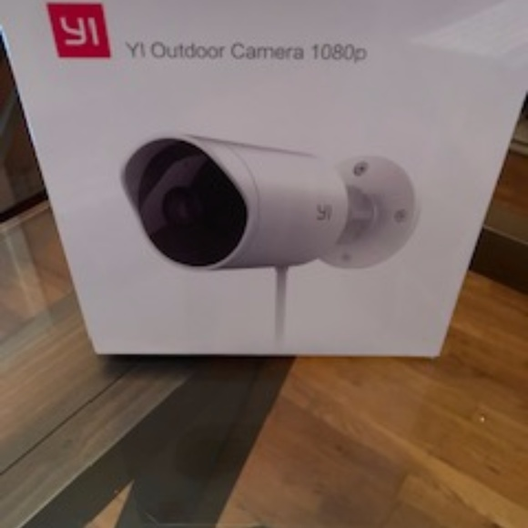 YI Outdoor Security Camera, 1080p Cloud Cam 2 4G W Boutique